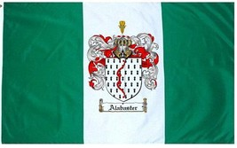 Alabaster Coat of Arms Flag / Family Crest Flag - $29.99