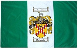 Battersby Coat of Arms Flag / Family Crest Flag - $29.99