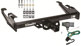 1988-2000 GMC C/K 2500 3500 TRAILER HITCH W/ WIRING KIT DRAW-TITE CLASS ... - $207.79