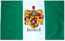 Beckinghame Coat of Arms Flag / Family Crest Flag - $29.99