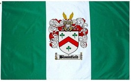Bloomfield Coat of Arms Flag / Family Crest Flag - $29.99