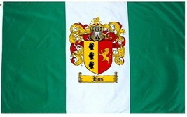 Bos Coat of Arms Flag / Family Crest Flag - $29.99