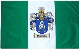 Budzielek Coat of Arms Flag / Family Crest Flag - $29.99