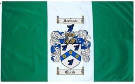 Clark Coat of Arms Flag / Family Crest Flag - $29.99