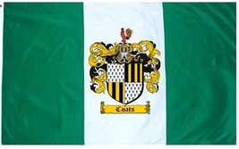 Coats Coat of Arms Flag / Family Crest Flag - $29.99