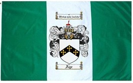 Ayr Coat of Arms Flag / Family Crest Flag - $29.99
