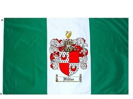 Hillier Coat of Arms Flag / Family Crest Flag - $29.99