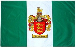 Brizendine Coat of Arms Flag / Family Crest Flag - $29.99