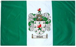 Edsell Coat of Arms Flag / Family Crest Flag - $29.99