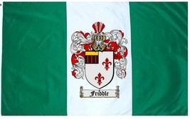 Friddle Coat of Arms Flag / Family Crest Flag - $29.99