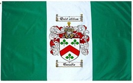 Goudie Coat of Arms Flag / Family Crest Flag - $29.99