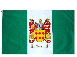 Lavin Coat of Arms Flag / Family Crest Flag - $29.99