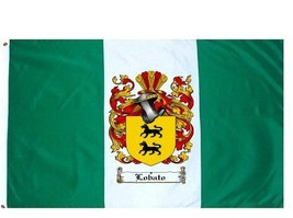 Lobato Coat of Arms Flag / Family Crest Flag - $29.99