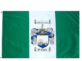 O'Cahill Coat of Arms Flag / Family Crest Flag - $29.99