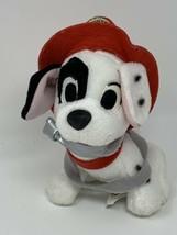 "Disney SEGA Plush Dalmation Fire Fighter Stuffed Animal 7"" Tall Prize Re... - $12.38"
