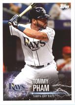 2019 Topps MLB Stickers #88 Tommy Pham/Ryan Hoskins - $1.25
