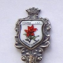 Collector Souvenir Spoon Canada Saskatchewan Wolseley Prairie Lily - $9.99