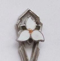 Collector Souvenir Spoon Canada Ontario Oshawa Trillium - $9.99