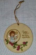 Vintage LaBerge 89' - Joy to the World - Angel Christmas Ornament - $8.90