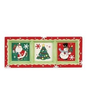 Fitz and Floyd - Merry and Bright - 3 Section Server - 2011' - $34.99