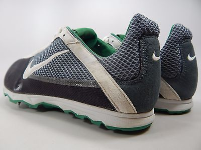 Nike Zoom Forever XC Men's Track Shoes Size US 12.5 M (D) EU 47 Gray Green