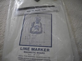 Needlecraft Line Marker Magnetic Board  - $15.00