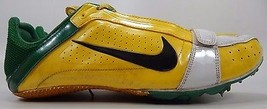 Nike Zoom Rival S IV 4 Men's Track Shoes Size US 12.5 M (D) EU 47 Yellow Green