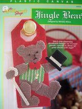 The Needlecraft Shop Jingle Bear Christmas Plastic Canvas Pattern Leafle... - $2.69