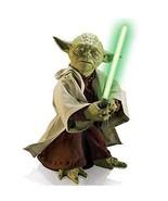 Star Wars Jedi Master Yoda W/ Lightsaber Body Movement Voice Recognition... - $241.30