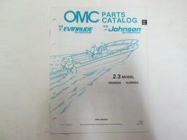 1991 Omc Johnson Evinrude Fuerabordas 2.3 HP Partes Catalog Manual OEM U... - $14.78