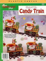 The Needlecraft Shop Santa Candy Train Christmas Plastic Canvas Pattern ... - $5.69