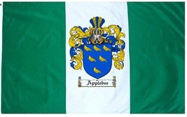 Applebee Coat of Arms Flag / Family Crest Flag - $29.99