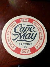 Cape May Brewing Company Coasters, 25, New, - $15.20