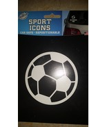 Sport Icons Soccer Ball Car Decal Sticker Decoration - New - $9.99