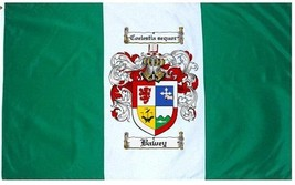 Bawey Coat of Arms Flag / Family Crest Flag - $29.99