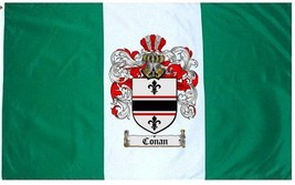 Conan Coat of Arms Flag / Family Crest Flag - $29.99