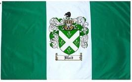 Blait Coat of Arms Flag / Family Crest Flag - $29.99