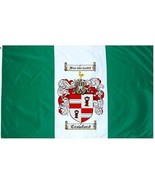Crawford Coat of Arms Flag / Family Crest Flag - $29.99