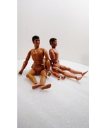 Two Lone Ranger 1973 Gabriel for Parts 10 inch figures without clothes - $9.99