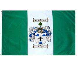 Hogue Coat of Arms Flag / Family Crest Flag - $29.99