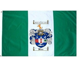 Keen Coat of Arms Flag / Family Crest Flag - $29.99
