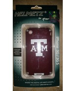 Helmetz Aggies A&M Iphone 3G / 3GS Phone Case With Screen Protector , New  - $14.99