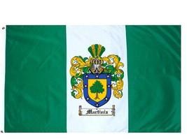 Martiniz Coat of Arms Flag / Family Crest Flag - $29.99