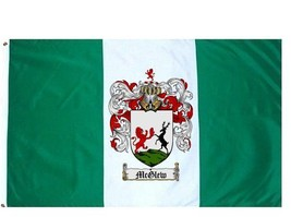 Mcglew Coat of Arms Flag / Family Crest Flag - $29.99