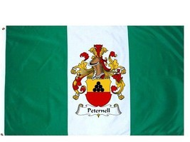Peternell Coat of Arms Flag / Family Crest Flag - $29.99