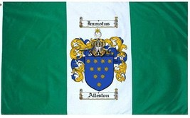 Alleston Coat of Arms Flag / Family Crest Flag - $29.99