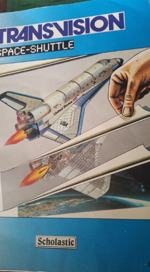 Primary image for Rare Scholastic Transvision Space Shuttle Book Text & Illustrations 1980's
