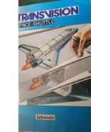 Rare Scholastic Transvision Space Shuttle Book Text & Illustrations 1980's - $29.99