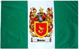 Belscher Coat of Arms Flag / Family Crest Flag - $29.99