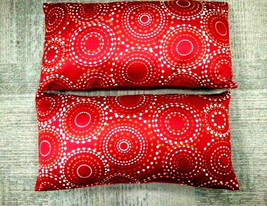 DESIGNER BOHEMIAN CIRCLES RECTANGULAR DECORATIVE THROW  PILLOWS - £45.99 GBP